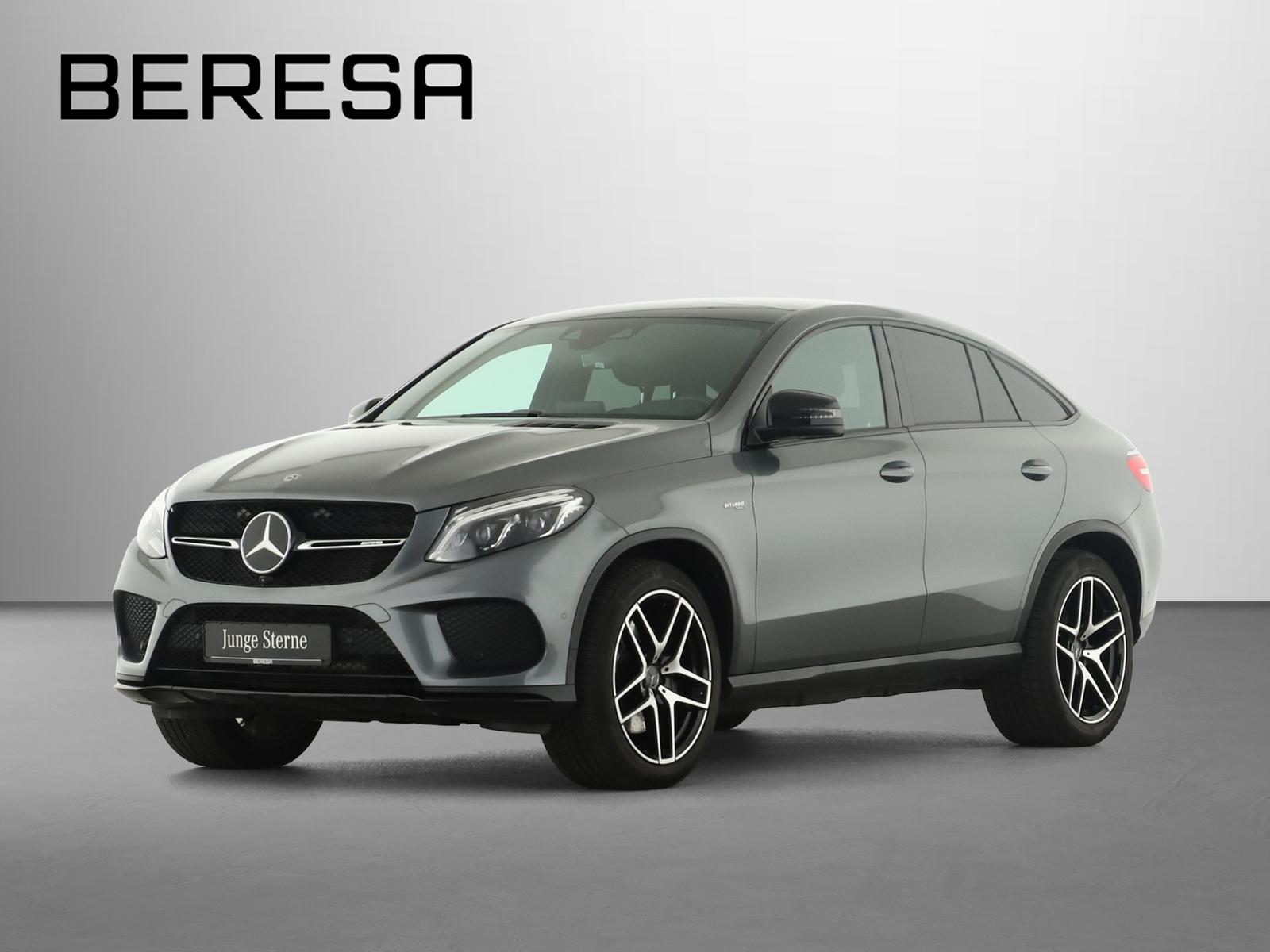 Mercedes-Benz GLE 43 AMG 4M Coupé AMG Distronic AHK Pano. 360°, Jahr 2019, Benzin