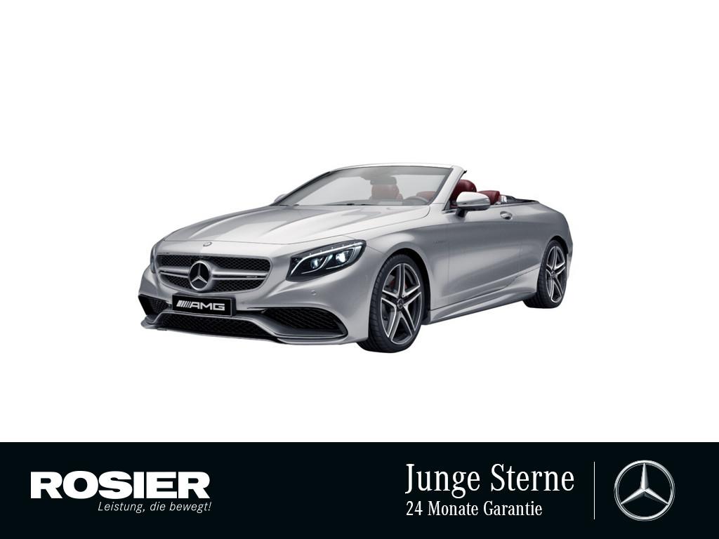Mercedes-Benz S 63 AMG 4M Cabrio Exklusiv, Jahr 2018, Benzin