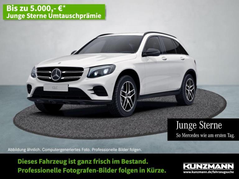 Mercedes-Benz GLC 300 4M AMG Night Comand LED Kamera Distronic, Jahr 2018, Benzin