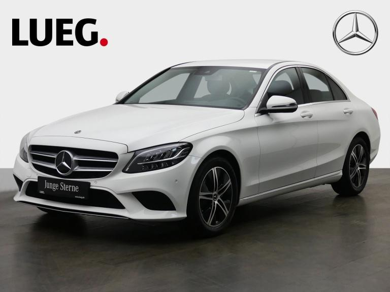 Mercedes-Benz C 220 d Avantgarde+Navi+LED-HP+SpurP+CarP+Kamera, Jahr 2020, Diesel