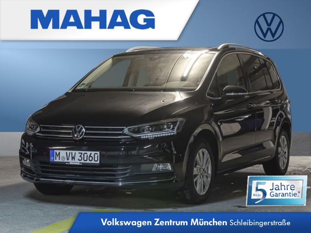 "Volkswagen Touran 1.5 TSI Highline ""Business Premium"" STH Pano ""Easy Open""DigitalCockpitPro ""DYNAUDIO"" 7-Gang-Doppelkupplungsgetriebe DSG, Jahr 2020, petrol"