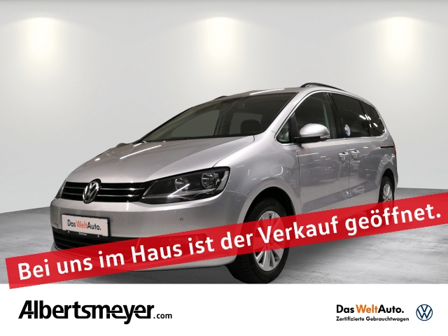 Volkswagen Sharan 2.0 TDI Comfortline +AHK+NAVI+7-SITZER+LM, Jahr 2015, Diesel