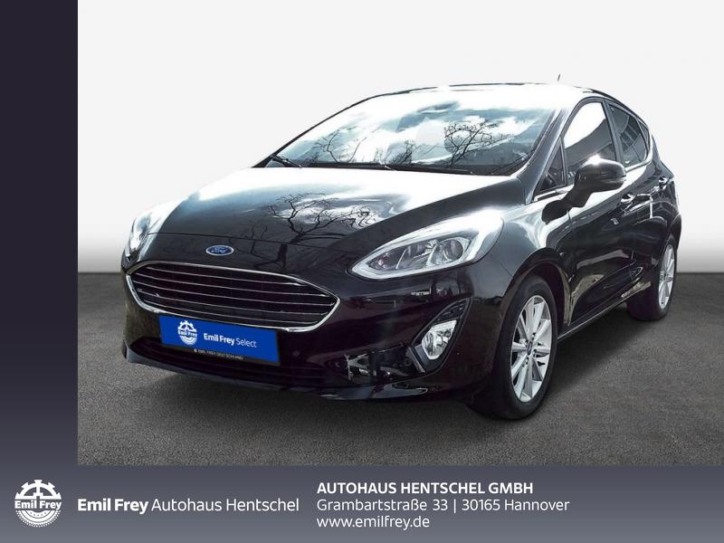 Ford Fiesta 1.0 74KW/100PS TITANIUM, Jahr 2018, Benzin