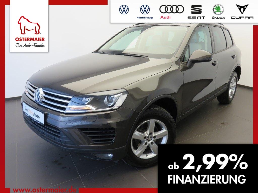 Volkswagen Touareg 3.0TDI 204PS.XENON.NAVI.KAMERA.LEDER.CLI, Jahr 2016, Diesel