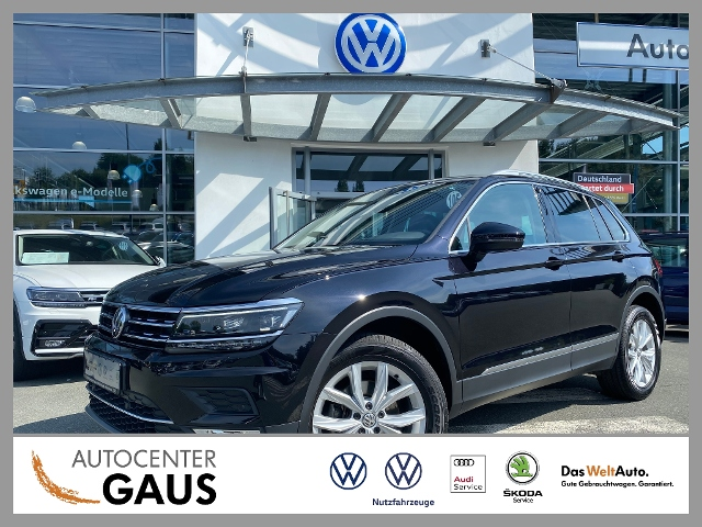 Volkswagen Tiguan Highline 2.0 TDI DSG 4M LED ACC, Jahr 2016, Diesel