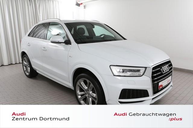 Audi Q3 2.0TDI 2xS line/LED/Navi+/Leder, Jahr 2018, Diesel