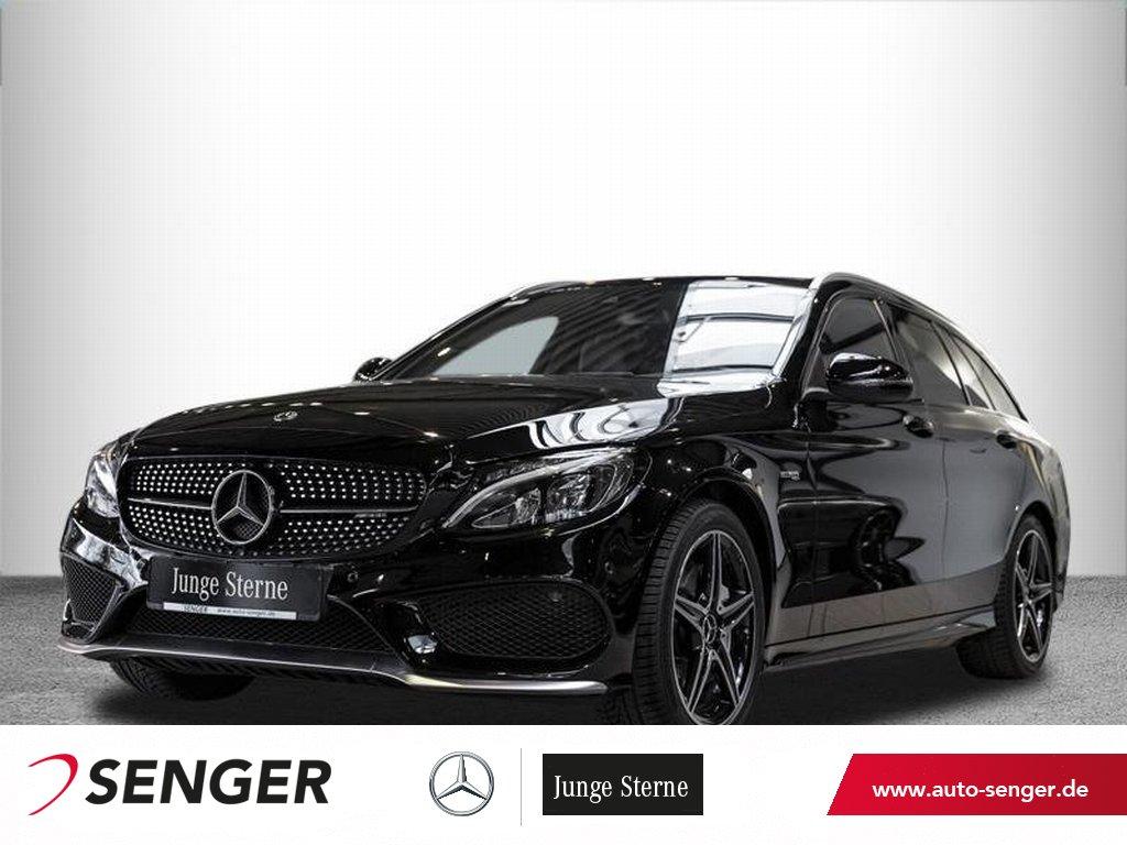 Mercedes-Benz C 43 AMG 4M T *Panorama*Comand*LED*Leder rot*PTS, Jahr 2017, Benzin