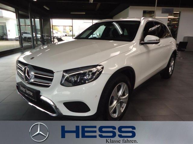 Mercedes-Benz GLC 300 4MATIC Exclusive+Fahrassist.+LED+AHK, Jahr 2018, Benzin