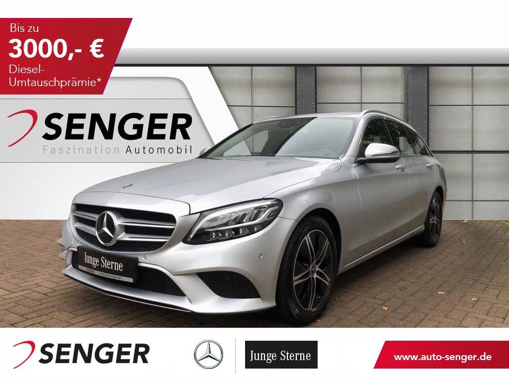 Mercedes-Benz C 220 T d AHK LED Navi Kamera Assistenz Paket, Jahr 2020, Diesel