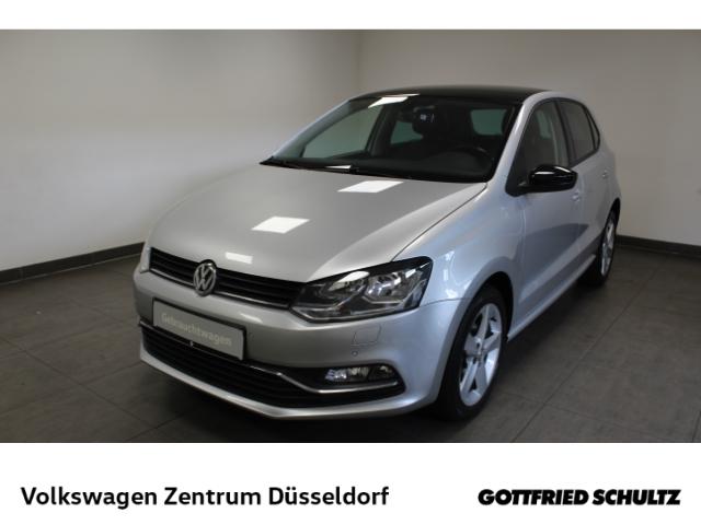 Volkswagen Polo 1.0 Comfortline *Leder*Navi*GRA*SHZ*PDC*Alu*, Jahr 2017, Benzin