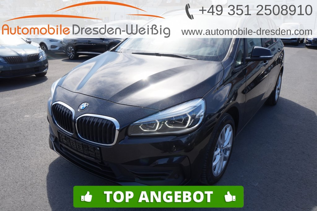 BMW 218 Gran Tourer d xDrive Advantage*UPE 50.420€, Jahr 2019, Diesel