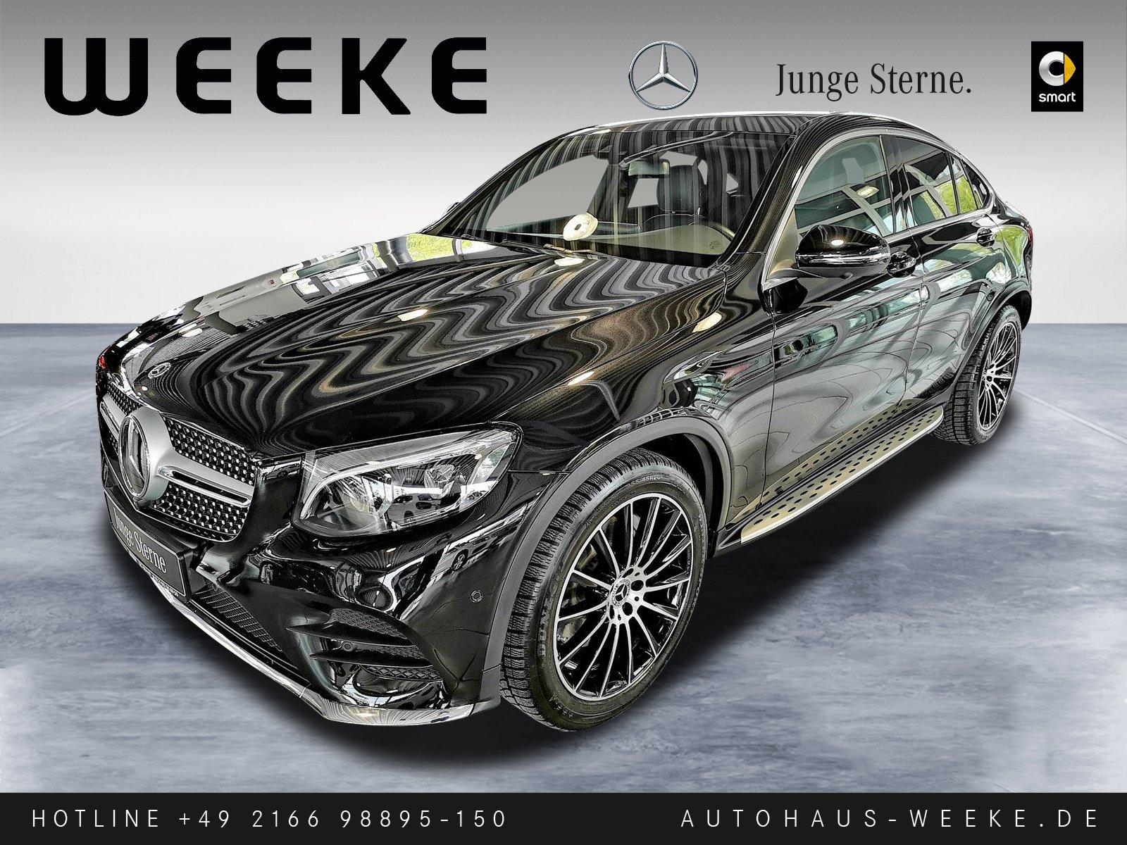 Mercedes-Benz GLC 300 Coupé 4M+AMG+AIR-BODY+360CAM+AHK+SD+DIST, Jahr 2016, Benzin