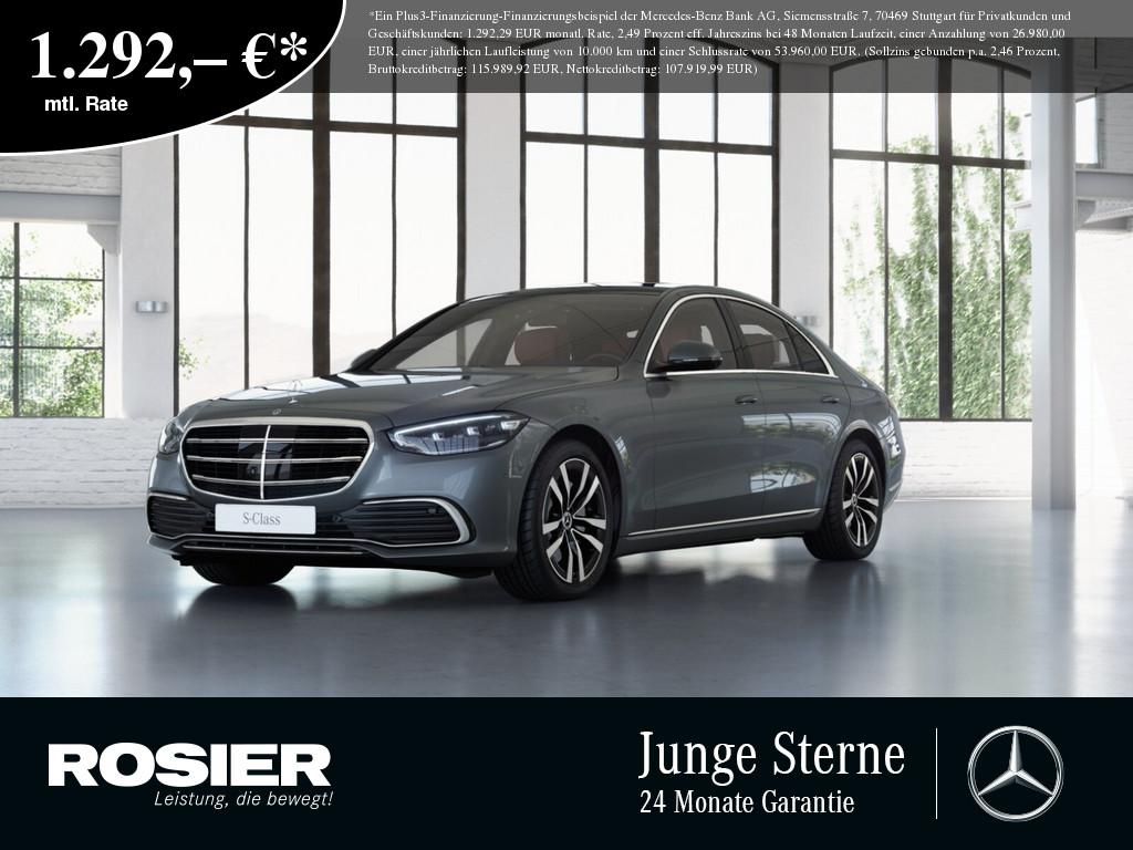 Mercedes-Benz S 500 4M, Jahr 2021, Benzin