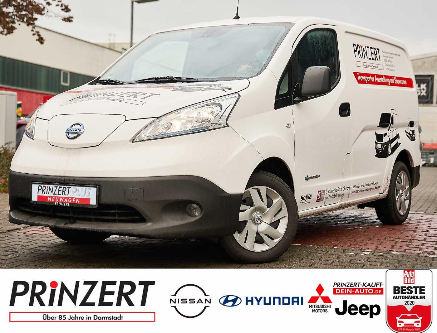 Nissan e-NV200 Premium 4-türer Winter Gittertrennwand, Jahr 2020, Elektro