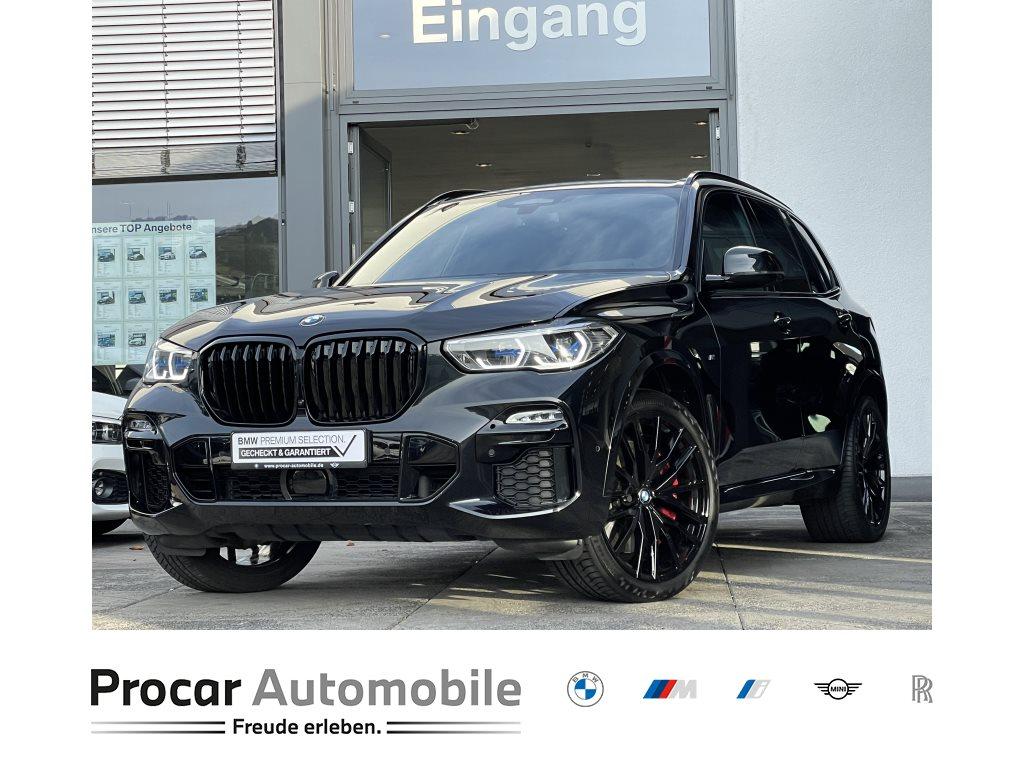 BMW X5 M50i xDrive 22 AHK PA+ DA Laser Bremse Rot, Jahr 2020, Benzin