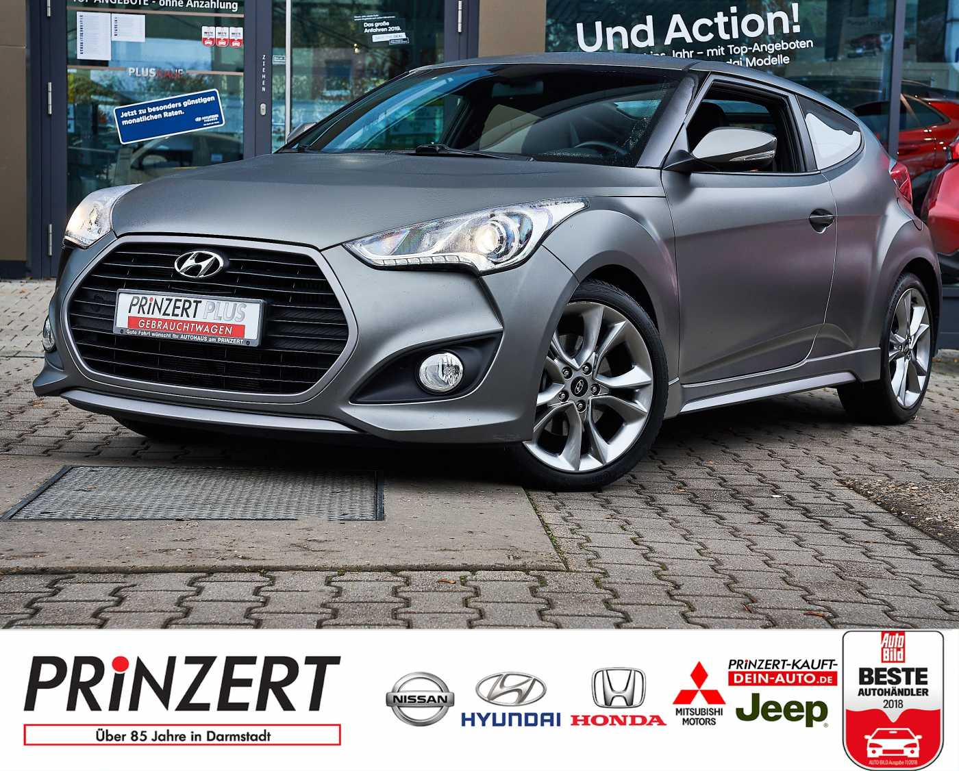 Hyundai Veloster 1.6 DCT 'Trend' 8-Fach, Jahr 2012, petrol
