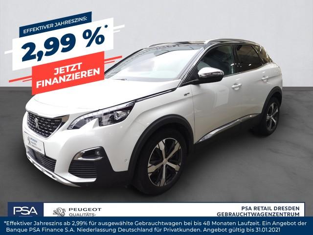 Peugeot 3008 BlueHDi 180 Stop & Start EAT6 GT/ Navi/ Massage/ Kamera, Jahr 2018, Diesel