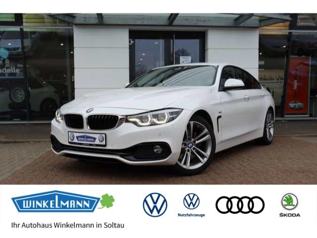 BMW 430 Gran Coupe d Sport Line Leder LED Navi e-Sitze HUD Fernlichtass. El. Heckklappe, Jahr 2017, Diesel