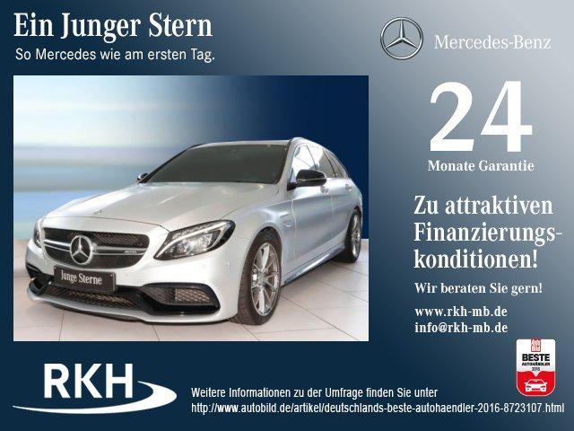 Mercedes-Benz AMG C 63 T-Mod Silber magno Night-Paket/Kamera, Jahr 2016, Benzin