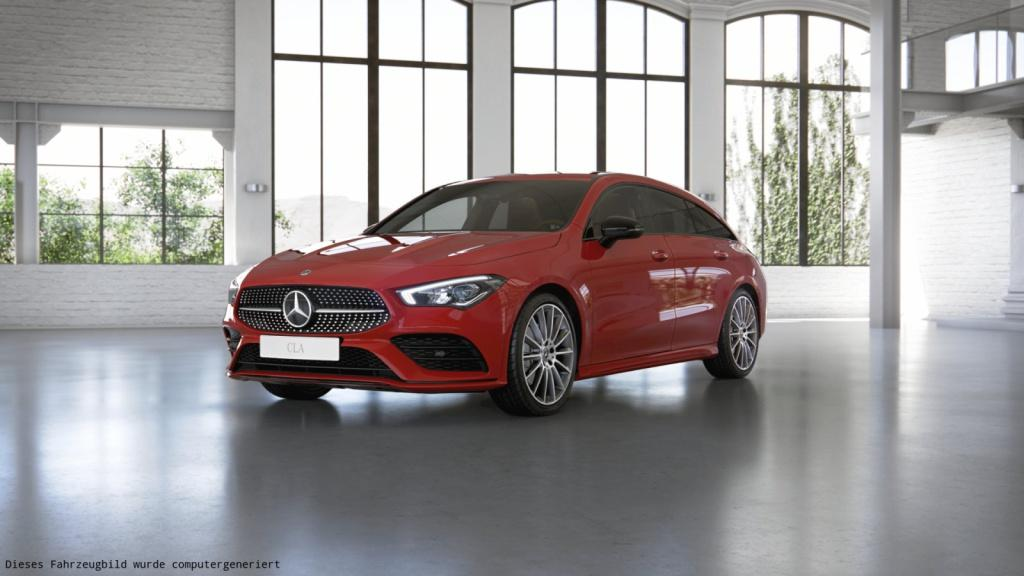 Mercedes-Benz CLA 220 Shooting Brake AMG/Night/LED/AHK/Kamera, Jahr 2019, Benzin