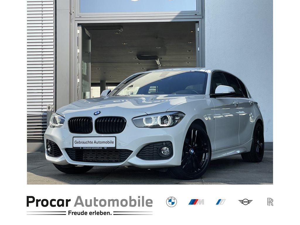 BMW 118i M Sport LED Navi PDC VR+Hi Shz 18 LM, Jahr 2018, Benzin