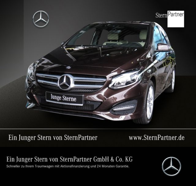 Mercedes-Benz B 250 Style +AHK+LED High Performance+Easy-Vario, Jahr 2015, petrol