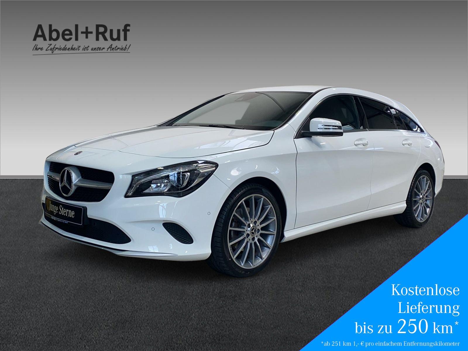 Mercedes-Benz CLA 220d SB Navi+LED+Sitzh.+Klimaa.+Keyless GO, Jahr 2018, Diesel
