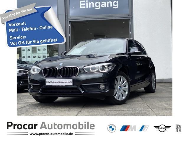 BMW 118i Advantage Navi LED Klimaaut. Shz PDC v.+h., Jahr 2019, Benzin
