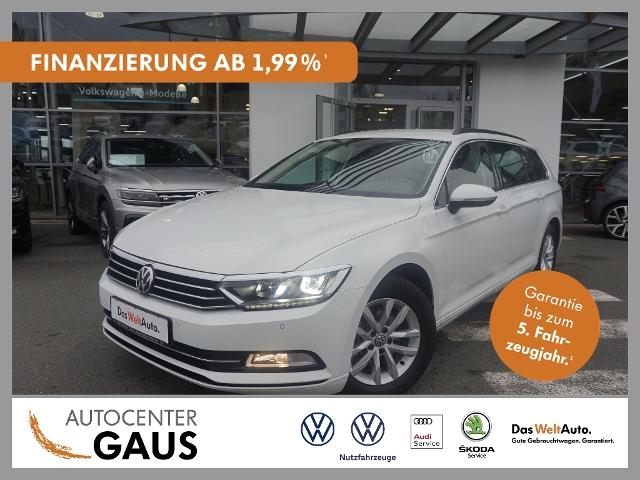 Volkswagen Passat Var. Comfortl. 2.0 TDI DSG LED Navi ACC, Jahr 2018, Diesel