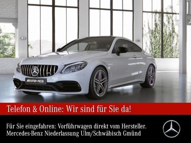 Mercedes-Benz C 63 S Coupé Sportpaket Head Up Display Navi LED, Jahr 2020, Benzin