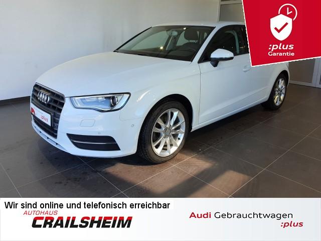 Audi A3 Sportback 2.0 TDI, Xenon, AHK, Sitzheizung, GRA, 2-Zonen Klima, Jahr 2015, Diesel