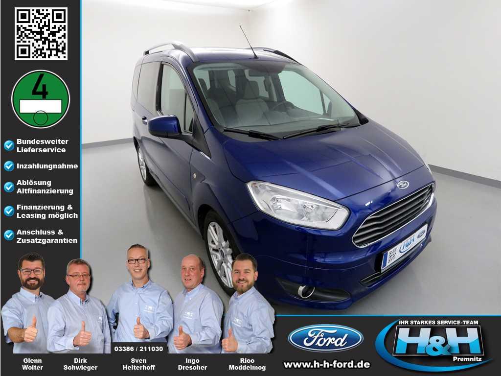Ford Tourneo Courier 1.6 TDCi Titanium (AHK), Jahr 2014, Diesel