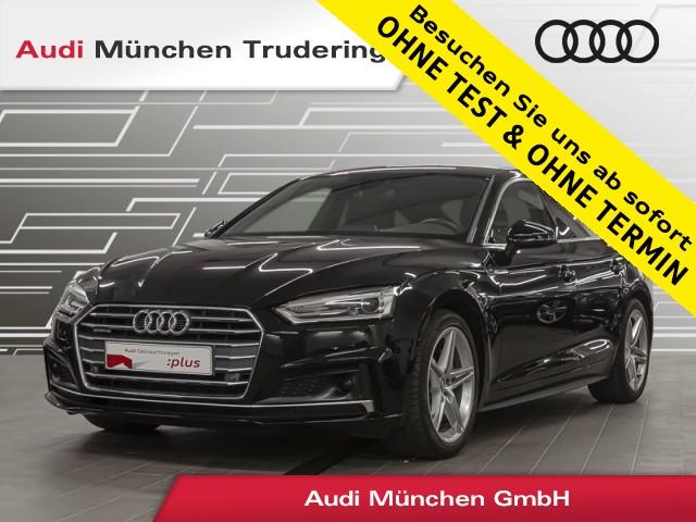 Audi A5 Sportback 2.0 TDI qu. sport/S line/Navi+/ACC, Jahr 2018, Diesel
