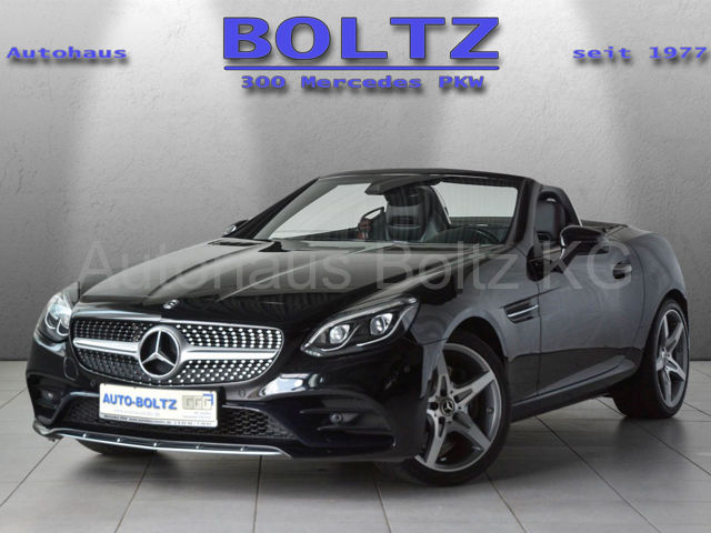 Mercedes-Benz SLC 180 AMG L. Navi PTS Kamera LED ILS ASC, Jahr 2018, Benzin