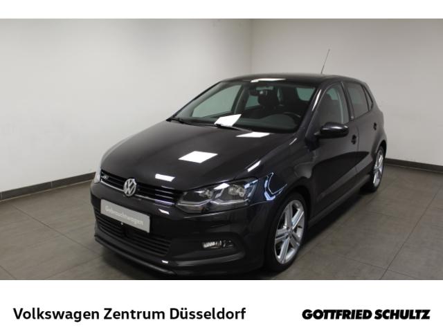 Volkswagen Polo Lounge 1.0 TSI R-Line *Pano*Navi*LED*SHZ*PDC*, Jahr 2015, Benzin