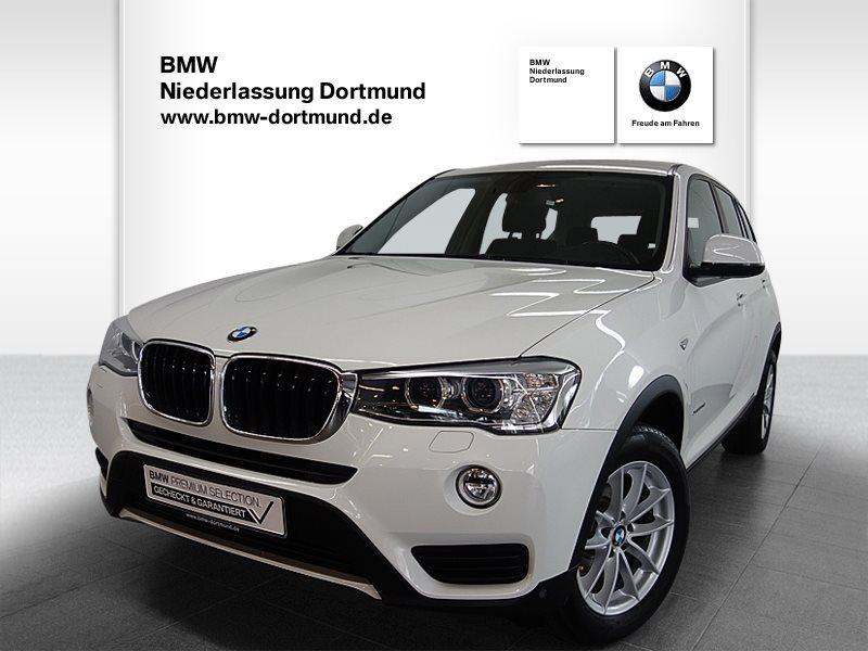 BMW X3 xDrive20d Advantage, Jahr 2017, Diesel