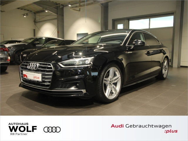 Audi A5 Sportback 2.0 TDI Sport S line ACC Navi+ LED, Jahr 2018, Diesel