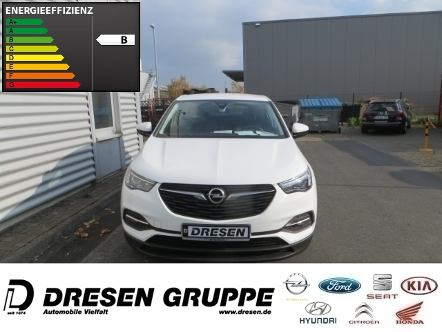 Opel Grandland X Selection 1.2 TURBO,SPURHALTEASSI,DAB,FREISPRECH., Jahr 2017, Benzin