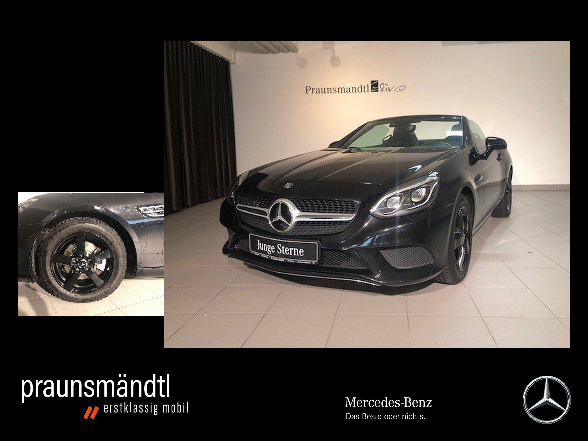 Mercedes-Benz SLC 180 9ATG/Navi/LED/SHZ/AIRSCARF/Pano/Leder, Jahr 2016, Benzin