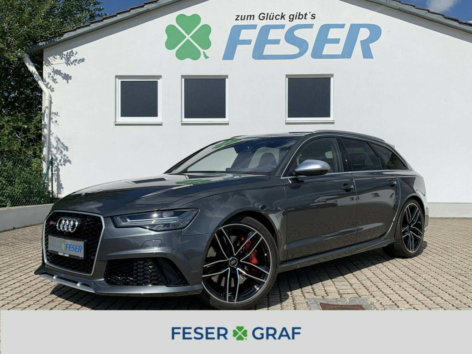 Audi RS6 Avant 4,0TFSI quattro BOSE/PANO/MATRIX/ABGAS, Jahr 2016, Benzin