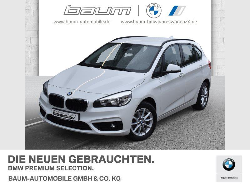 BMW 216d Active Tourer Advantage Navi Komfortzg., Jahr 2017, Diesel