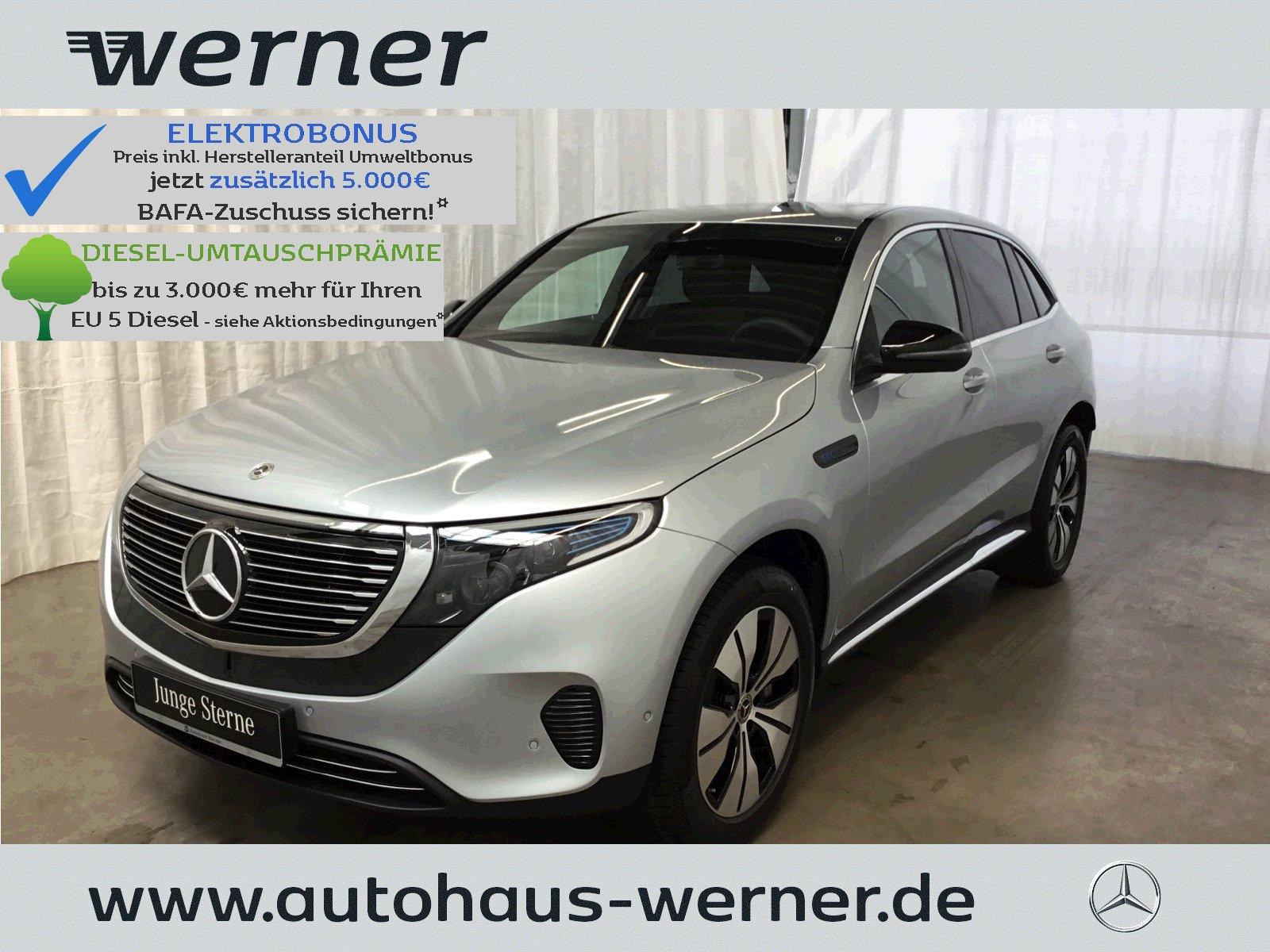 Mercedes-Benz EQC 400 4M AMG innen+Schiebedach+Totwinkel+, Jahr 2020, Elektro
