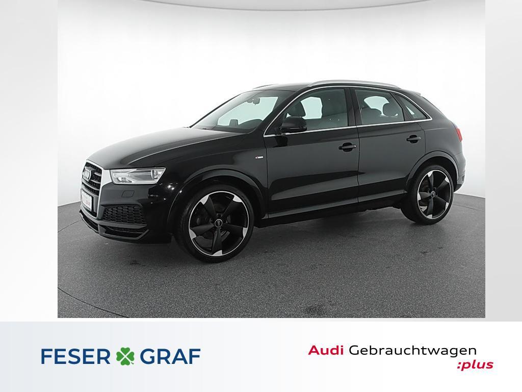 Audi Q3 1.4 TFSI 2x S Line Navi,Xenon,Leder,DAB, Jahr 2017, Benzin