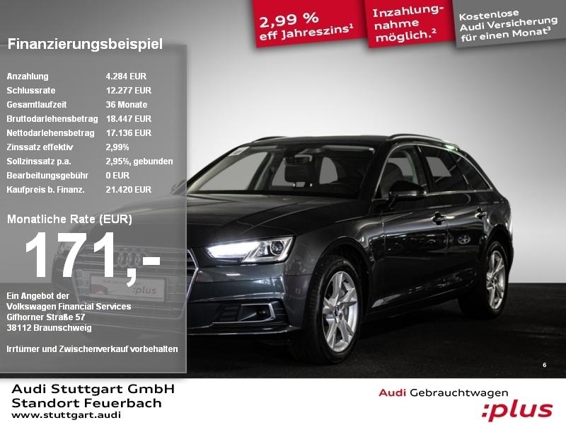 Audi A4 Avant 2.0 TDI Sport S tronic Head-up Kamera, Jahr 2017, Diesel