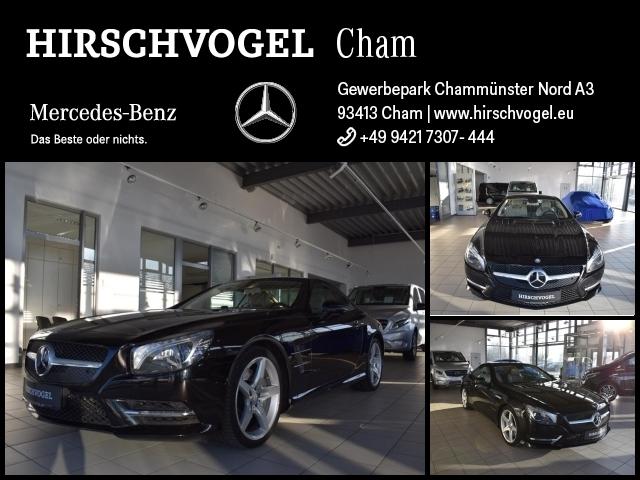 Mercedes-Benz SL 350 AMG-Line+Pano+AIRSCARF+DISTRONIC+Harman, Jahr 2014, petrol
