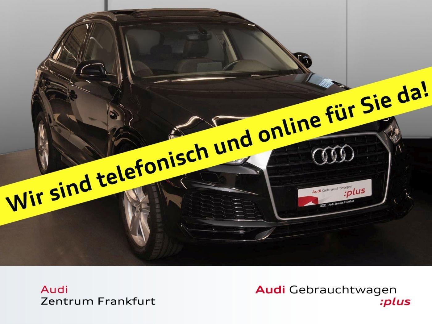Audi Q3 2.0 TDI S tronic S line Panorama DAB Navi Sitzheizung, Jahr 2017, Diesel