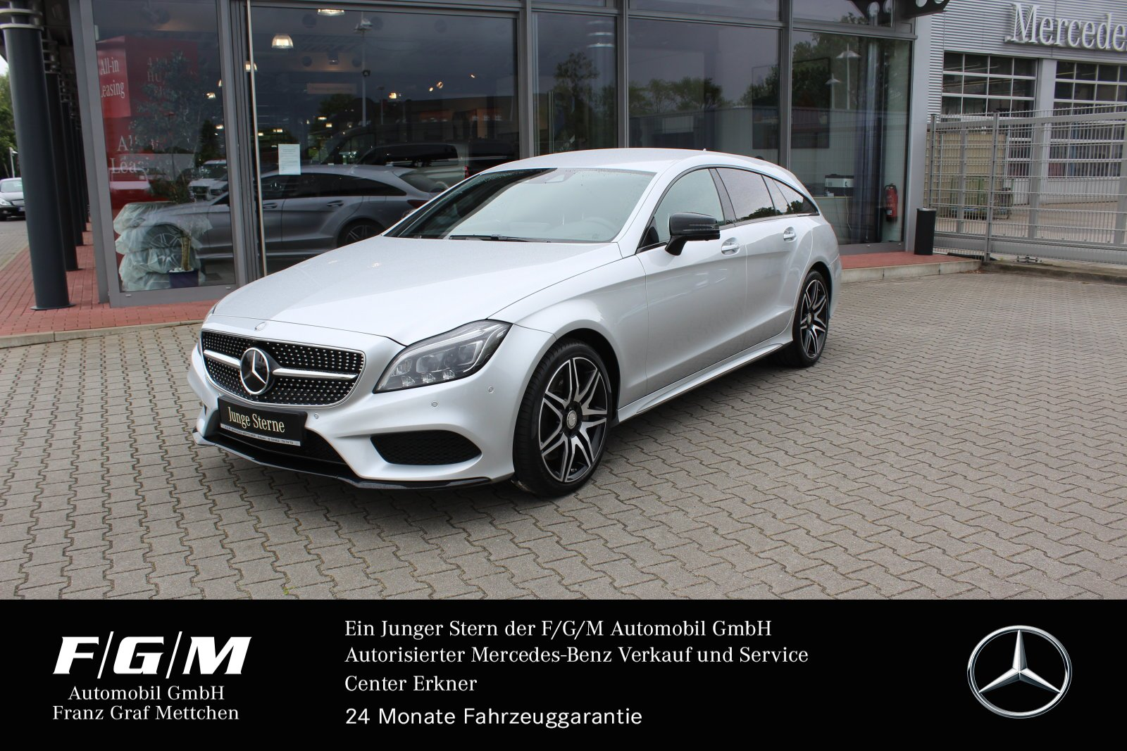 Mercedes-Benz CLS 500 4M SB AMG/COM/ILS/Distr/Standhzg/Memory, Jahr 2016, Benzin