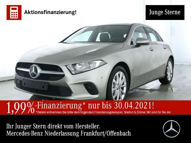 Mercedes-Benz A 200 Progressive Pano Navi Premium AHK PTS Sitzh, Jahr 2020, Benzin