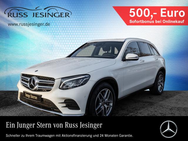 Mercedes-Benz GLC 350 d 4M AMG Line +COMAND+DISTRONIC+LED+HUD+, Jahr 2017, Diesel