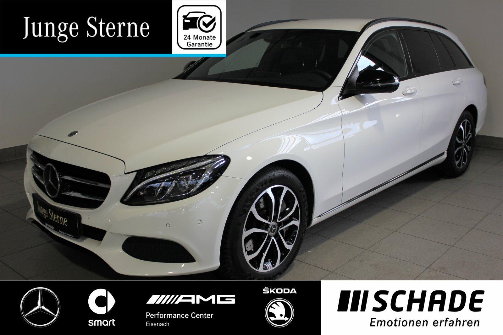 Mercedes-Benz C 400 T 4M Avantgarde *Airmatic*Distronic*Night*, Jahr 2017, Benzin
